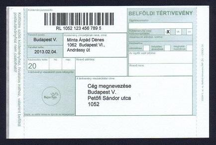 APS Postakönyv